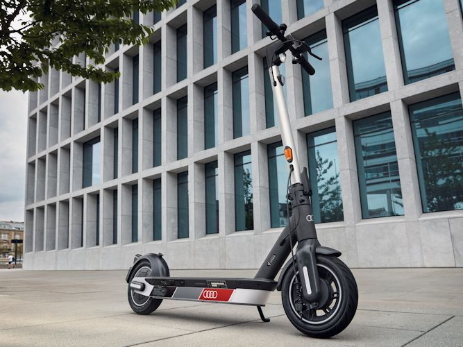 Audi e-scooter powered by Segway
