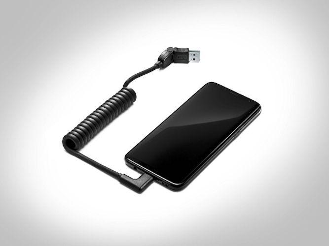 USB-tilslutningskabel - USB type-C