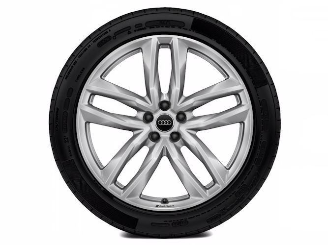 """5-dobbelteget design (9,5J x 21""""), Audi Sport"""