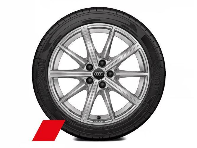 """10-eget stjernedesign (8J x 18""""), Audi Sport"""