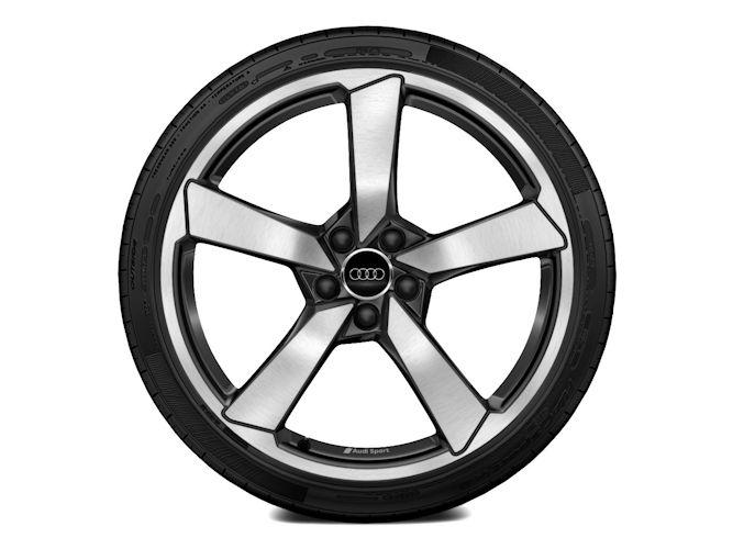 """5-eget design, kontrastlakeret (9J x 20""""), Audi Sport"""