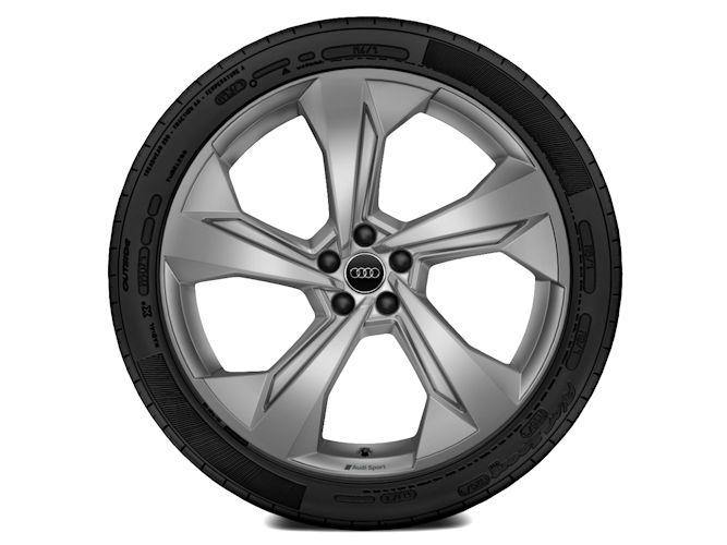 "5-eget edge-design, platinoptik (10J x 22""), Audi Sport"