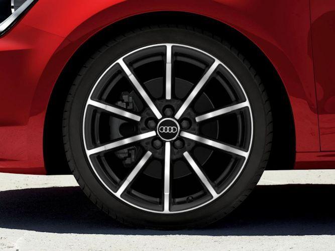 "10-eget design, matsort (7,5J x 17""), Audi Sport"