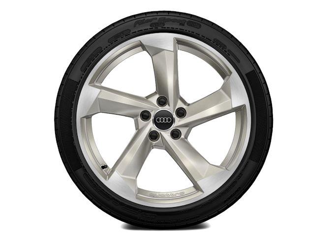 "5-eget turbinedesign, magnesiumoptik (9J x 19""), Audi Sport"