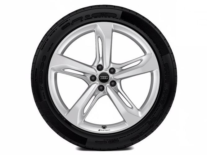 """5-eget blade-design (9,5J x 21""""), Audi Sport"""