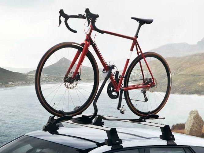 Cykelholder til tagbøjler
