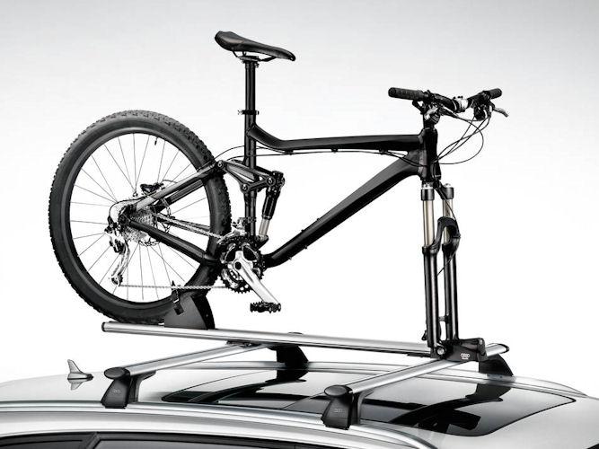 Cykelholder m. forgaffelholder til tagbøjler