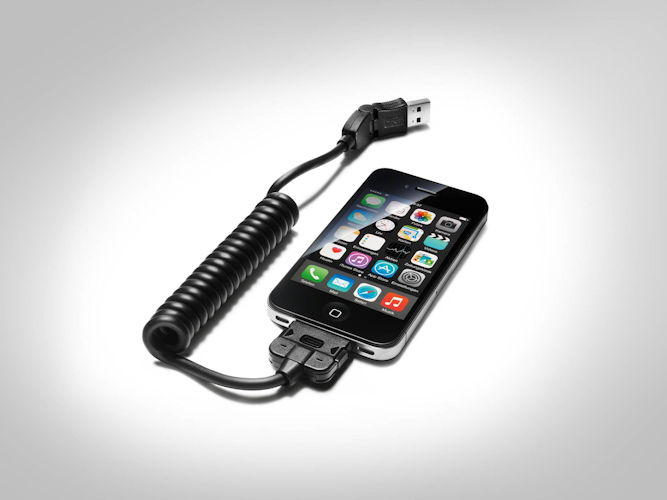 USB-tilslutningskabel - Apple iPod / iPhone