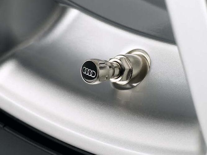 Ventilhætter med Audi logo