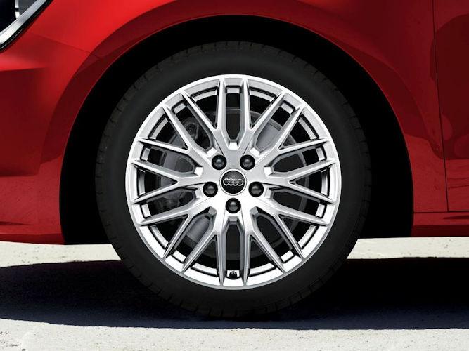 """10-eget Y-design (7,5J x 17""""), Audi Sport"""