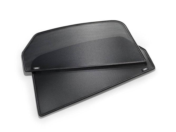 Solskærme til bagdøre, sæt med 2 stk.