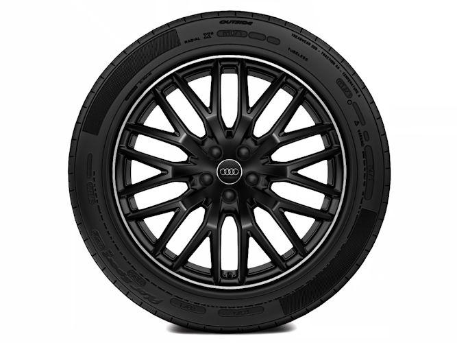 """10-eget Y-design, sort (9J x 20""""), Audi Sport"""