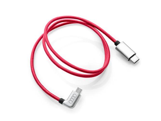 USB-C tilslutningskabel til micro-USB
