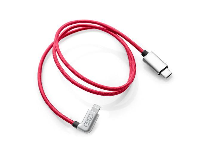 USB-C tilslutningskabel til Apple - 8-pin lightning connector