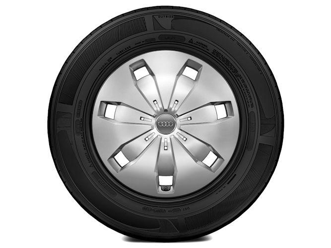 """Stålkomplethjul m. hjulkapsel (6J x 16"""")"""