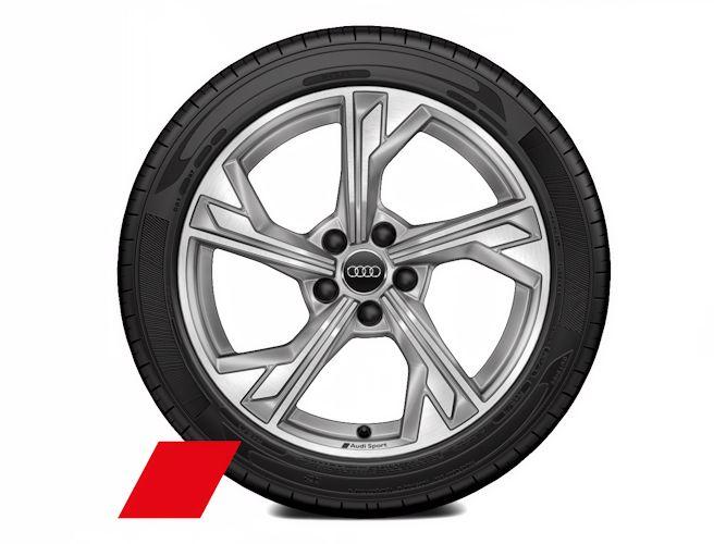 """5-eget flag-design (8J x 18""""), Audi Sport"""